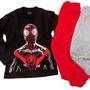 Spiderman hombre arana avengers negro con rojo o gris