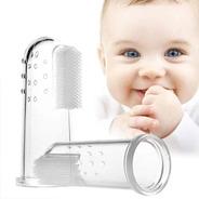 Cepillo Dental De Dedo Para Bebé