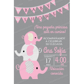 Invitacion Digital Imprimible Baby Shower