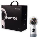 Samsung Videocámara Gear 360 4k Blanca Nueva - Sellada