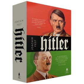 Biografia - Hitler Joachim Fest Caixa 2 Volumes Frete Grátis