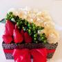 Flores Naturales Con Dulces Y Frutas Regalo San Valentin