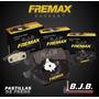 Pastillas Freno Fremax Del Ford Fiesta Max 02-12 150,90 Mm