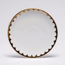 Jogo 6 Pratos De Jantar De Porcelana Egg 27cm Wolff R 25106