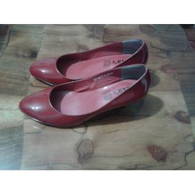 Muy Bonitas Zapatillas De Mujer De Piel De Cabra Y Charol