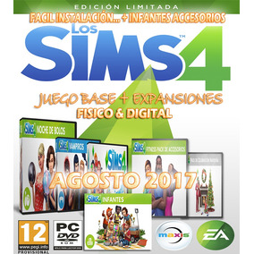 Sims 4 + Expansiones 2017 Fisico Español Latino Juegos Pc