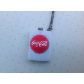 Encendedor Coca Cola De Pedernal Antiguo 50s 60s