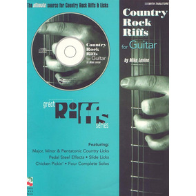 Country Rock Riffs By Mike Levine Tablatura Partitura Libro