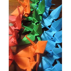 Grullas Origami Souvenir Casamientos Bautismos Cumpleaños