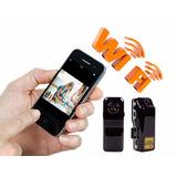 Mini Câmera Espionagem Transmissão Em Tempo Real Wifi