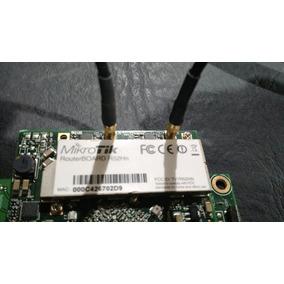 Zona Wifi Ap Mikrotik Rb 411a 300mhz Con R52hn + Pictail