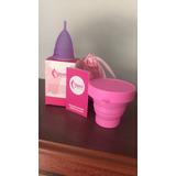 Copa Menstrual Aneer + Vaso Esterilizador