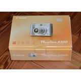 Camara Canon Powershot A550 (a Reparar O Para Repuestos)