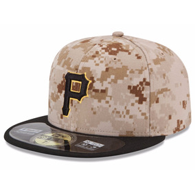 New Era Gorra Piratas Pitts 5950 7 3/8 Memorial On Field Nva