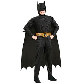 Fantasia Infantil Batman C/músculo Luxo - Em Até 12x