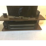 Mesa Moderna Baja Para Tv Con Ruedas 1.80x0.45mts