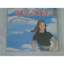 Cd Single/promo De Soledad:cancion De Las Simples Cosas