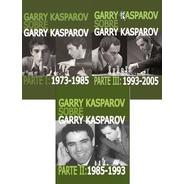 Pack 3 Tomos Garry Kasparov Sobre Garry Kasparov.