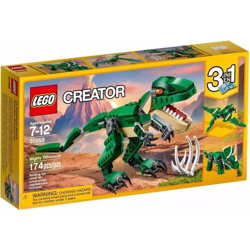 Lego Creator 31058 Dinossauros - 3 Em 1 - Pronta Entrega