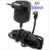 Fonte 6v 300ma Base / Ramal Telefone Sem Fio Vtech, Motorola