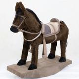Brinquedo Cavalinho Balanço Cowboy Bebes