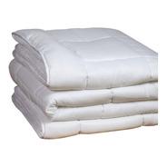 Acolchado 2 1/2 Blanco Cubrecama Cobertor Nordico Danubio