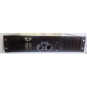Caixa Gabinete Potência 3000w Amplificador +on/signal 1579