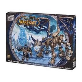 World Of Warcraft Sindragosa El Rey Exanime Mega Bloks 150pz