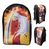 Inuyasha Mochila Backpack Espada Colmillo De Acero
