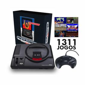 Mega Drive Tec Toy, 1 Controle,1311 Jogos Na Memória
