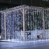Lámpara De Decoración Del Árbol De 3mx3m 304 Led Navidad