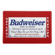 Tapete Capacho Personalizado  Budweiser