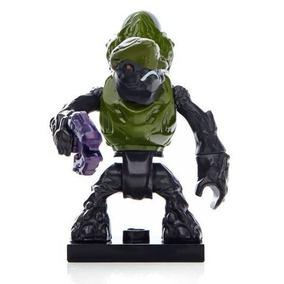 Megabloks Halo Bravo Series Figura Green Storm Grunt Plasma