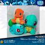 Peluches Pokémon Starters Charmander, Squirtle Y Bulbasaur!