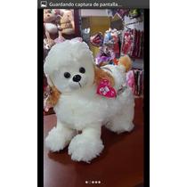 Peluche Perro Puder O Poodle 38x40 Cm Hipoalergenenico