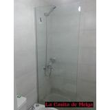 Mampara De Baño Fija Cristal Templado 90x180 Cm