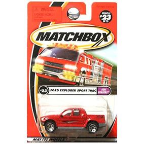 Matchbox 2001 Sun Chasers Ford Explorer Sport Track Pickup