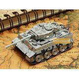 Rompecabezas 3d Tanque Tiger 1 Tank Puzzle Laser Metal
