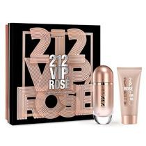 Coffret Perfume 212 Vip Rosé 80ml + Body Lotion 100ml Fem Ch