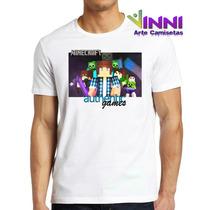 Camisa Personalizada Adulto Authentic Games Zumbi Ag3