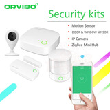 Kit Seguridad Para El Hogar Orvibo Domotica Lz