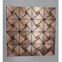 Metal Bronze Triangular