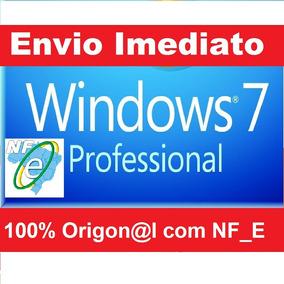 Key Windows 7 Professional 32/64 Bits + Nota Fiscal