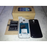 Samsung S4 Mini Gti9190 Placa Dañada. Con 3 Forros Y Caja.