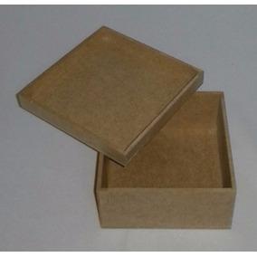 Kit Com 70 Caixas Mdf Cru 5x5x5 Cm Lembrancinha