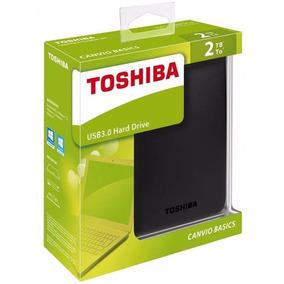 Hd Externo 2tb Usb 3.0 Canvio Basics Toshiba