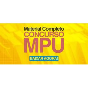 Mpu 2017 Técnico Vídeo Aulas+pdf+exercícios+plano De Estudos