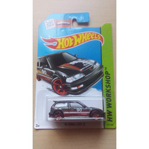 90 Honda Civic Ef Hot Wheels Die Cast 1/64