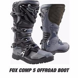 Botas Fox Comp5 Black/gray 2017. Enduro/motocross