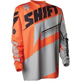 Jersey Shift Naranja Motocross, Hombre Talla Ch